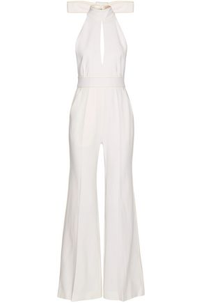 ROKSANDA Ruscha open-back bow-detailed crepe jumpsuit