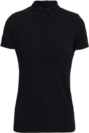 JOSEPH Stretch-jersey polo shirt