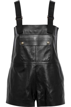 REDValentino Leather playsuit