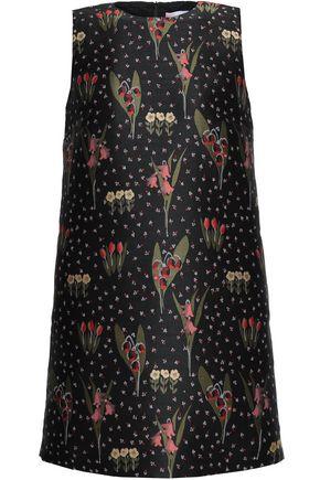 REDValentino Floral-jacquard mini dress