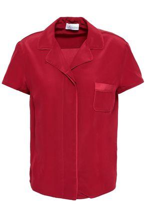 REDValentino Silk crepe de chine shirt