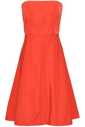 REDValentino Strapless taffeta dress