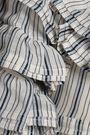 ZIMMERMANN Off-the-shoulder linen and silk-blend midi dress