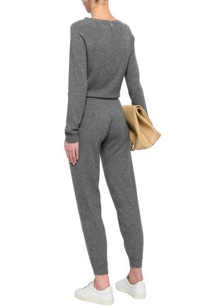 f19042474b7c ... MADELEINE THOMPSON Wool and cashmere-blend jumpsuit