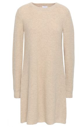 MADELEINE THOMPSON Wool and cashmere-blend mini dress