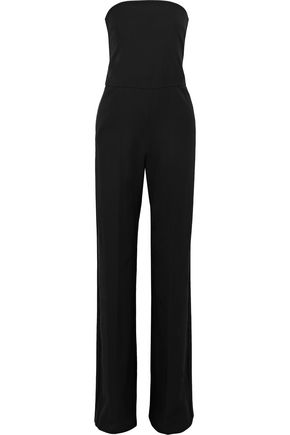 STELLA McCARTNEY Strapless wool-crepe jumpsuit