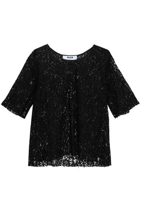MSGM Corded lace top