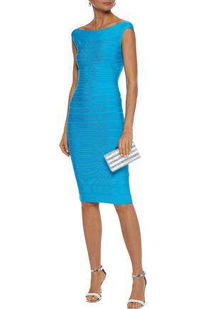 Herve Leger HervÉ LÉGer Woman Bandage Dress Azure