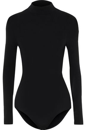 YUMMIE by HEATHER THOMSON Madelyn stretch-jersey turtleneck bodysuit