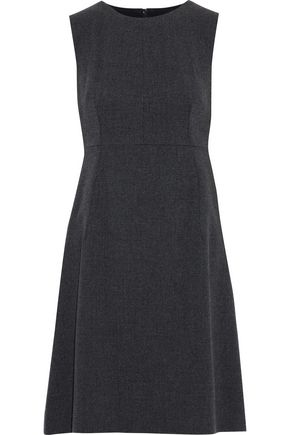 DOLCE & GABBANA Wool-blend canvas dress