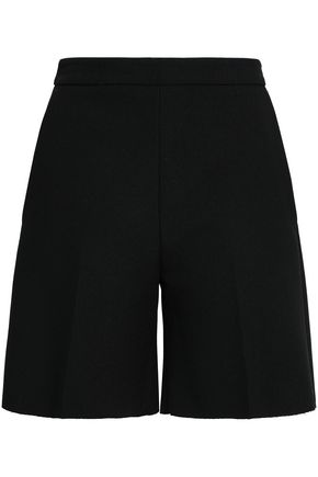 MSGM Stretch-crepe shorts