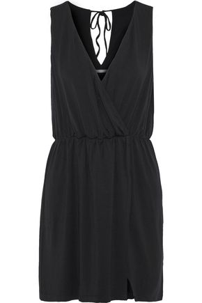 TART COLLECTIONS Pauline wrap-effect stretch-modal jersey mini dress