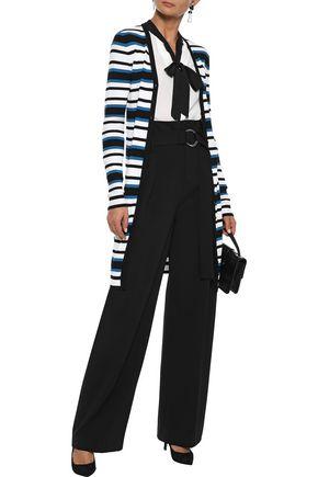 DOLCE & GABBANA Striped silk cardigan