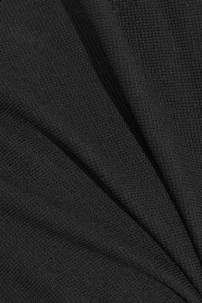 ROSETTA GETTY Open-back stretch-jersey mini dress