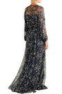 PAUL & JOE Floral-print silk-georgette gown