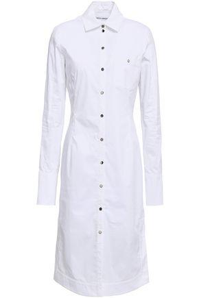 PACO RABANNE Stretch-cotton poplin shirtdress