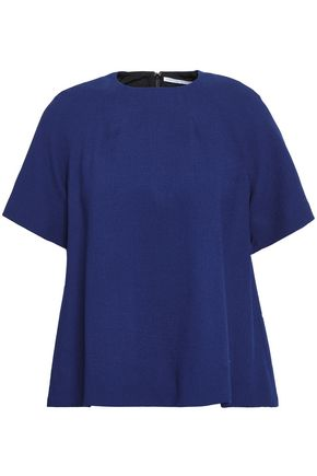 EMILIA WICKSTEAD Wool-crepe top
