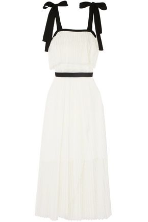 PHILOSOPHY di LORENZO SERAFINI Point d'esprit maxi dress