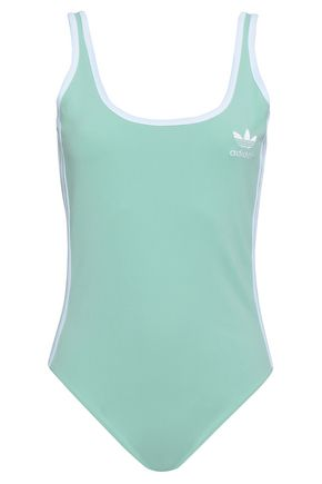ADIDAS ORIGINALS Open-back jersey bodysuit