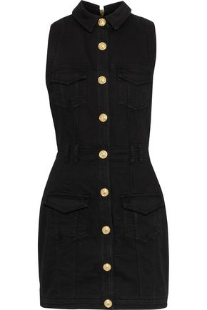 BALMAIN Denim mini dress