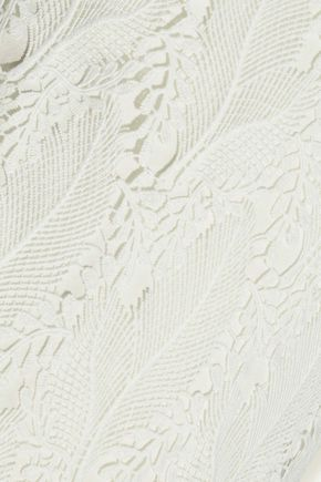 TART COLLECTIONS Devora guipure lace mini slip dress
