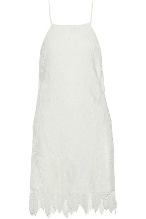 TART COLLECTIONS Devora guipure lace mini slip dress