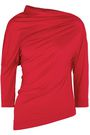 VIVIENNE WESTWOOD ANGLOMANIA Draped stretch-jersey top