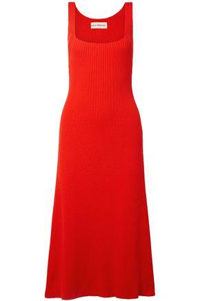 MARA HOFFMAN Vita ribbed cotton dress