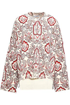 PACO RABANNE Printed cotton-blend sweater