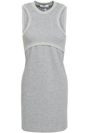 PACO RABANNE French-terry mini dress