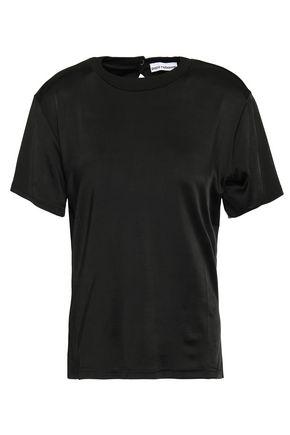 PACO RABANNE Cutout stretch-jersey T-shirt