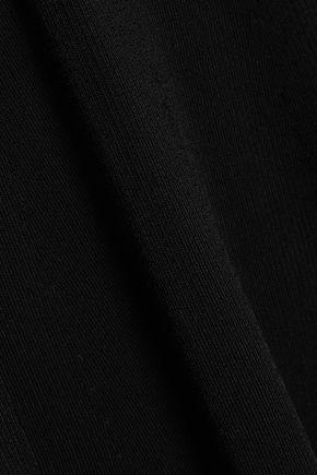 MAJE Ryan ribbed-knit midi dress