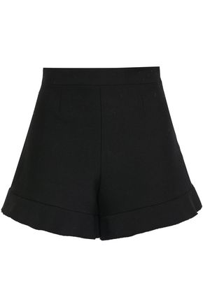 REDValentino Cotton-blend twill shorts