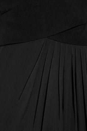 GUCCI Cutout silk-chiffon gown