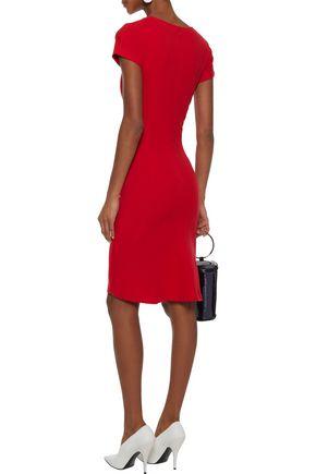 STELLA McCARTNEY Cotton-blend stretch-ponte dress
