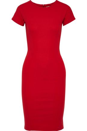 STELLA McCARTNEY Cotton-blend stretch-ponte dress