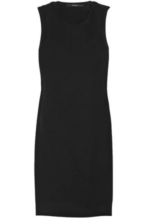 GUCCI Cutout silk-blend faille dress