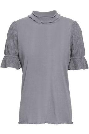 CO Cotton-blend turtleneck T-shirt