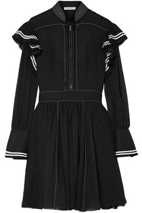 PHILOSOPHY di LORENZO SERAFINI Cotton mini dress