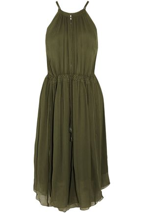 APIECE APART Boronia silk-crepon dress