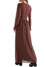 MICHAEL MICHAEL KORS Printed crepe de chine maxi dress