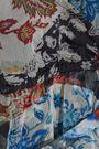 LOVE SAM Wrap-effect cutout floral-print georgette blouse