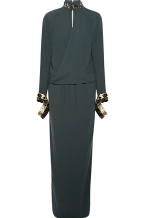 BY MALENE BIRGER Embellished cady maxi dress
