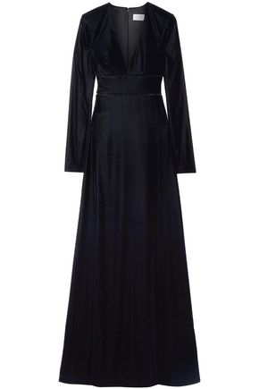 LA LIGNE Velvet maxi dress