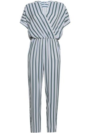 705f5b54c76 MAJE Pando striped twill jumpsuit