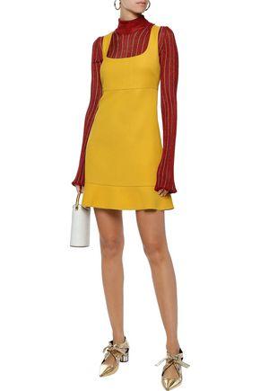 REDValentino Cotton-blend crepe mini dress