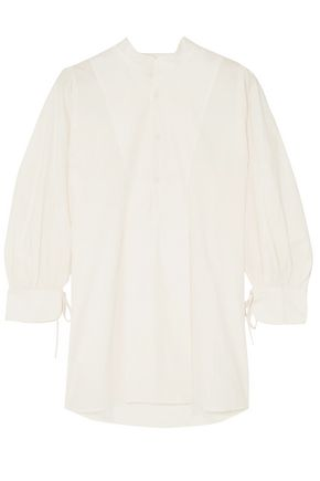 APIECE APART Isli Viola cotton-poplin tunic