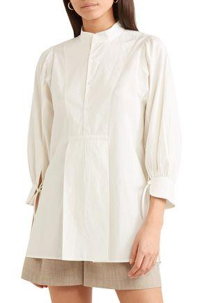 APIECE APART Isli Viola cotton-poplin tunic