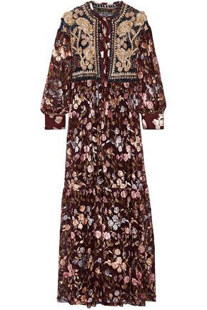 BIYAN Embellished lace gown