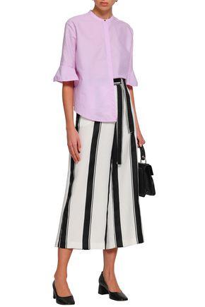 MAJE Charly cotton-poplin blouse